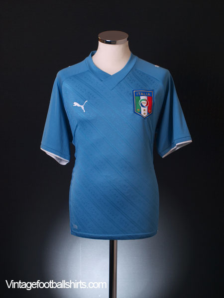 2009 Italy Confederations Cup Home Shirt M