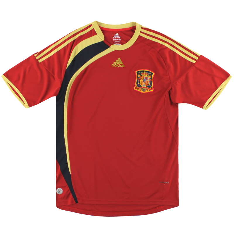 2009 Spain Confederations Cup adidas Home Shirt XL