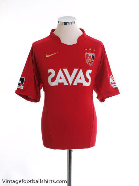 2009 Urawa Red Diamonds Home Shirt XL