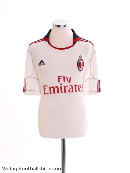 2010-11 AC Milan Away Shirt S - P96277