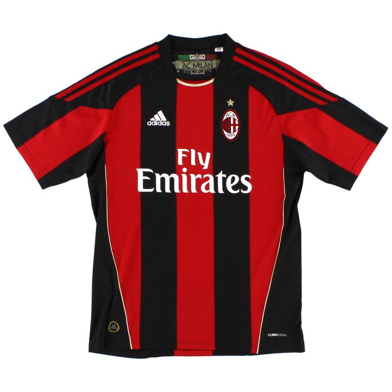 2010-11 AC Milan Home Shirt M - P96288