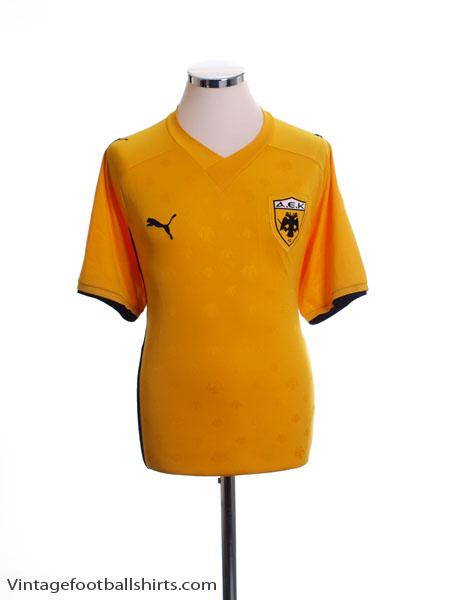 2010-11 AEK Athens Home Shirt XL
