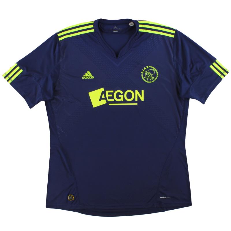 2010-11 Ajax adidas Away Shirt XXL - P95918