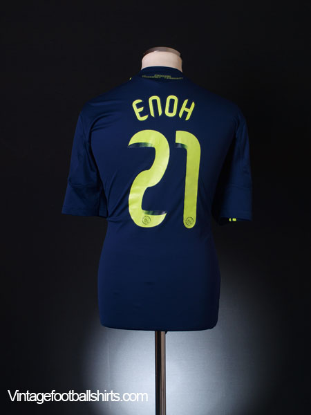 2010-11 Ajax Away Shirt Enoh #21 L