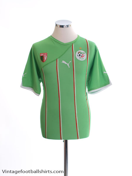 2010-11 Algeria Away Shirt XL