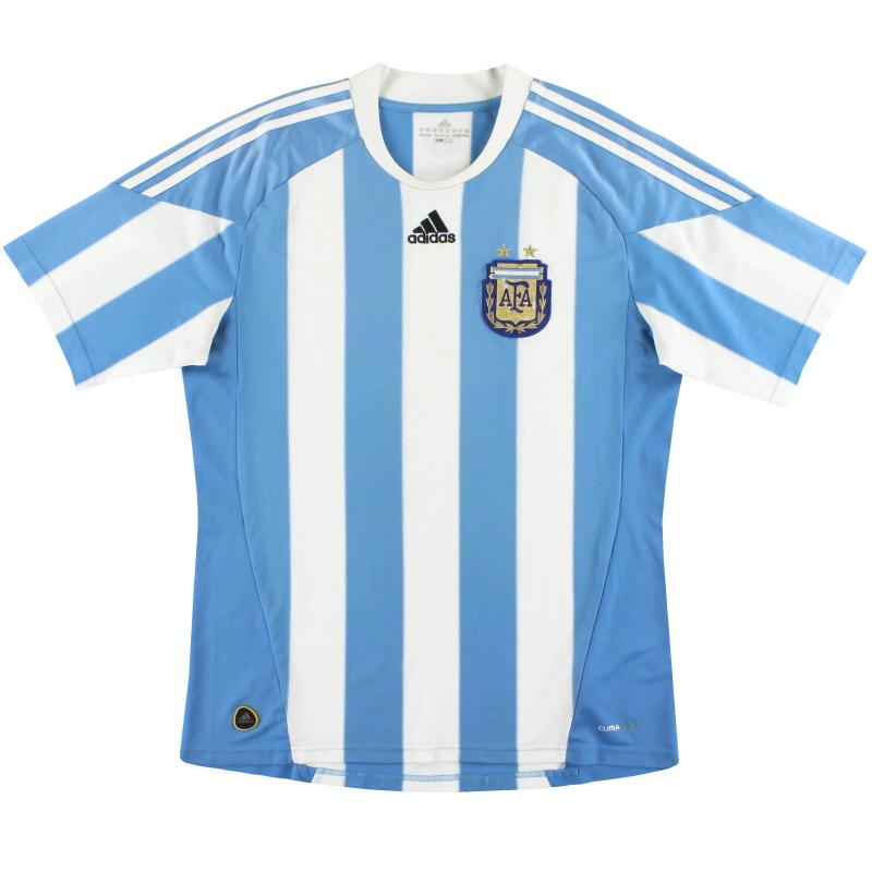 2010-11 Argentina adidas Home Shirt XL