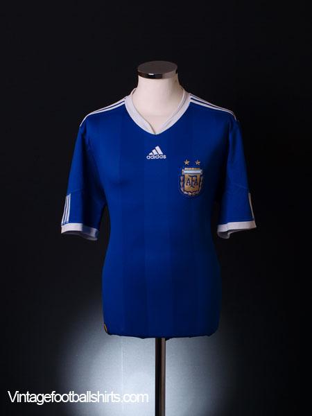 2010-11 Argentina Away Shirt S