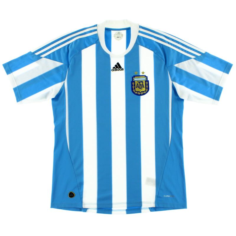 2010-11 Argentina Home Shirt *Mint* L - P47066