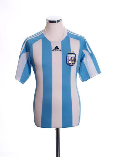 2010-11 Argentina Home Shirt S