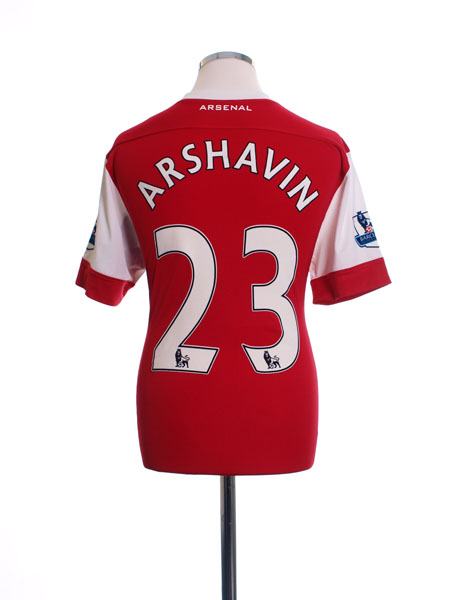 2010-11 Arsenal Home Shirt Arshavin #23 *BNWT* L