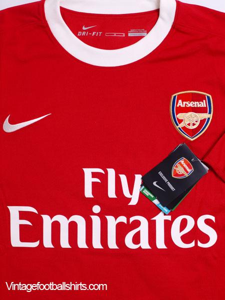 69c0c12720a 2010-11 Arsenal Home Shirt Arshavin  23  BNWT  L for sale