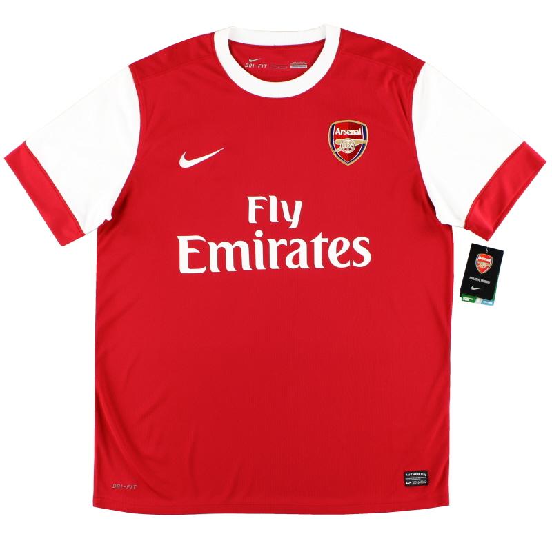 2010-11 Arsenal Home Shirt *w/tags* L