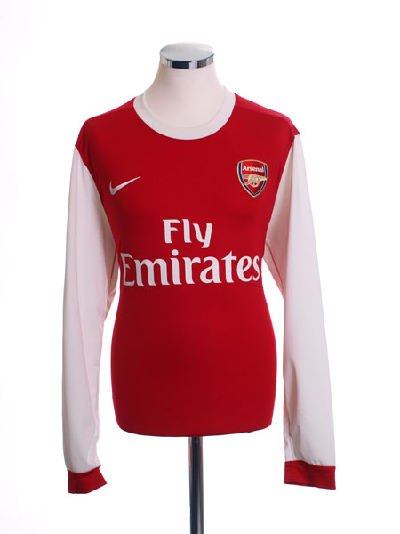 2010-11 Arsenal Home Shirt L/S *Mint* L