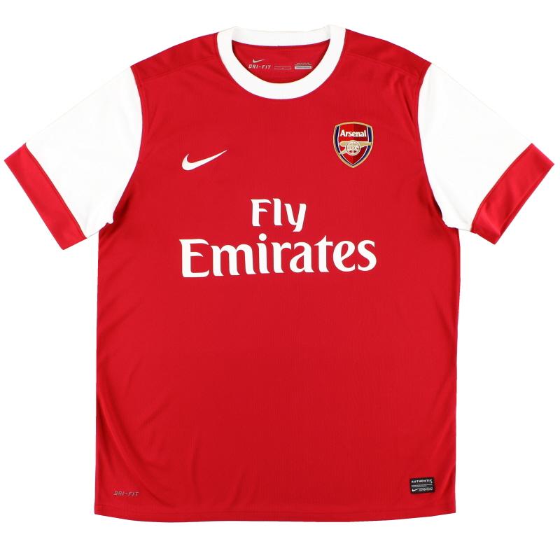 2010-11 Arsenal Home Shirt *Mint* XL