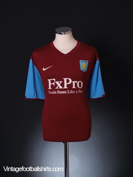 2010-11 Aston Villa Home Shirt M