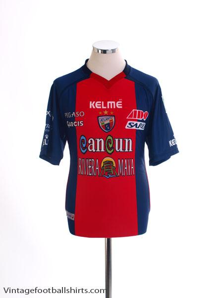 2010-11 Atlante Home Shirt *Mint* M