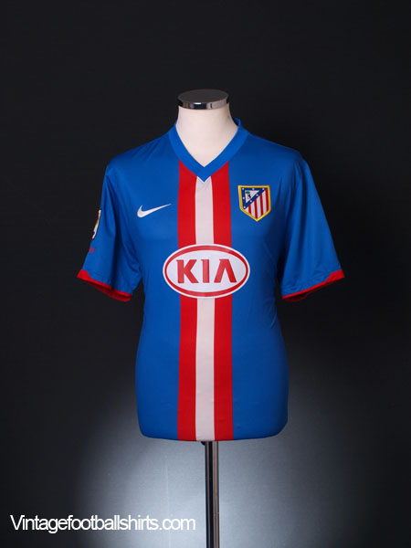 2010-11 Atletico Madrid Away Shirt L