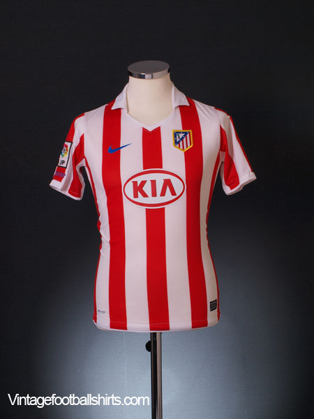 2010-11 Atletico Madrid Home Shirt L