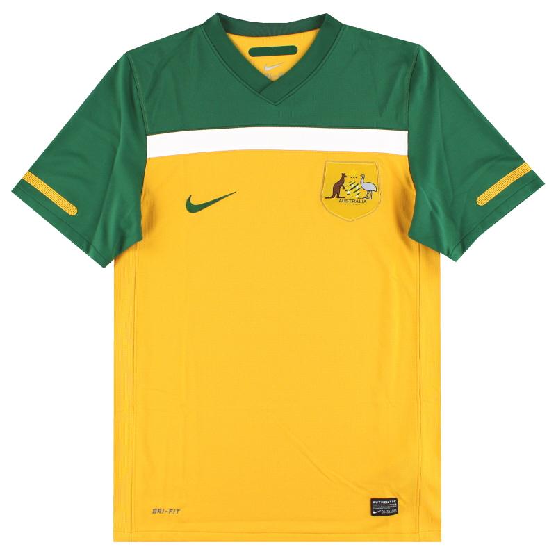 2010-11 Australia Home Shirt S