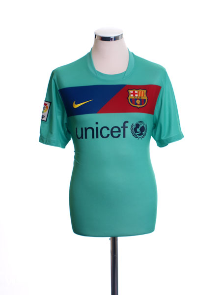 2010-11 Barcelona Away Shirt L - 382358-310