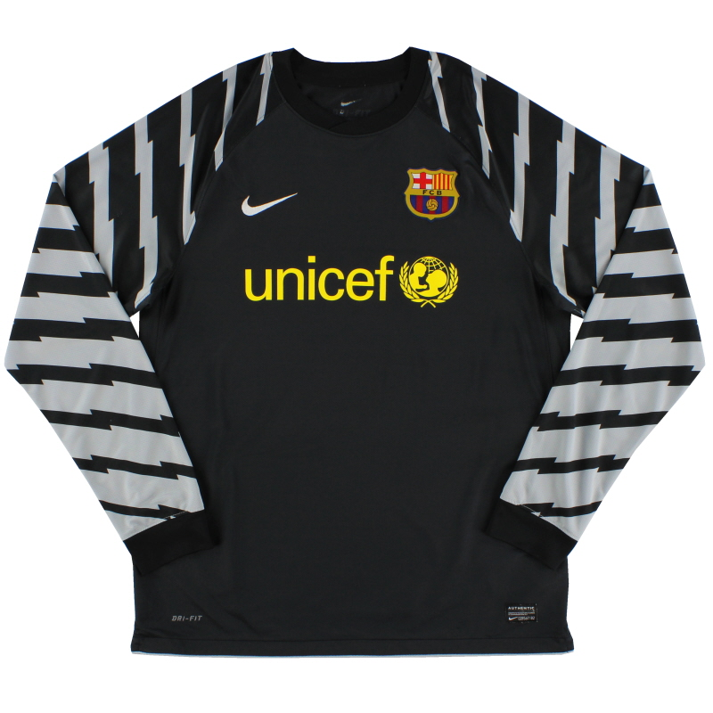 2010-11 Barcelona Goalkeeper Shirt L - 382361-010