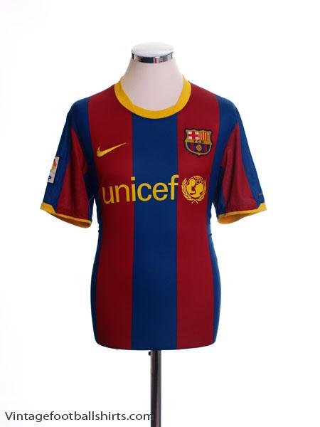 2010-11 Barcelona Home Shirt M - 382354-486