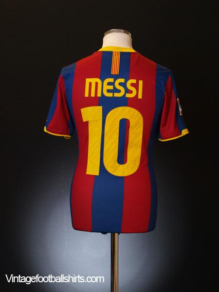 innovative design f5084 5233c 2010-11 Barcelona Home Shirt Messi #10 XL.Boys for sale