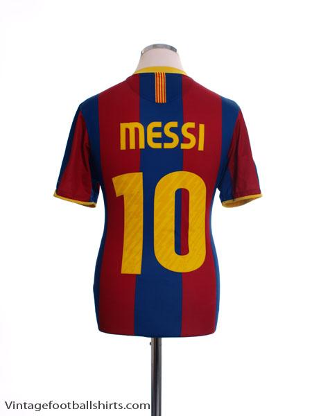 2010-11 Barcelona Home Shirt Messi #10 S