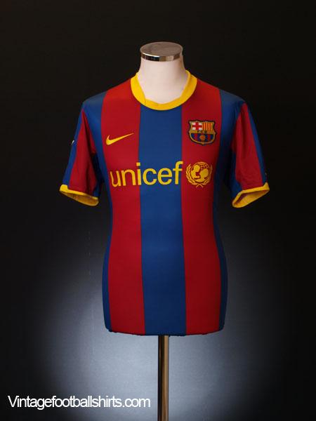 2010-11 Barcelona Home Shirt XL