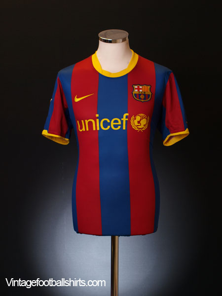 2010-11 Barcelona Home Shirt XXL