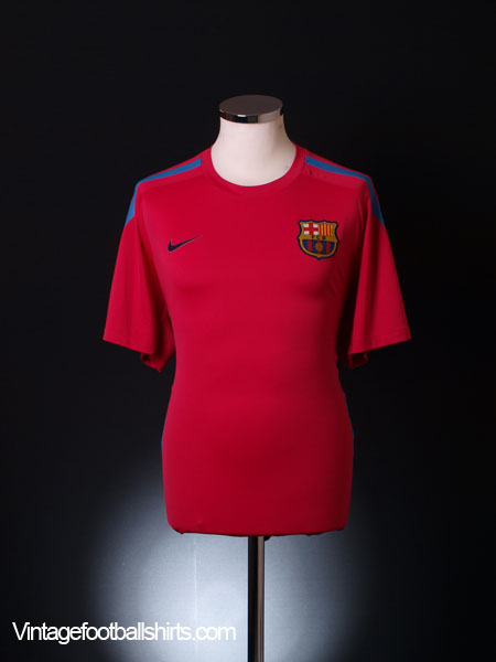 2010-11 Barcelona Training Shirt L