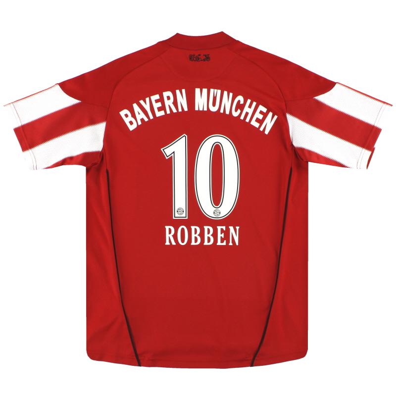 2010-11 Bayern Munich adidas Home Shirt Robben #10 XL.Boys - P95717