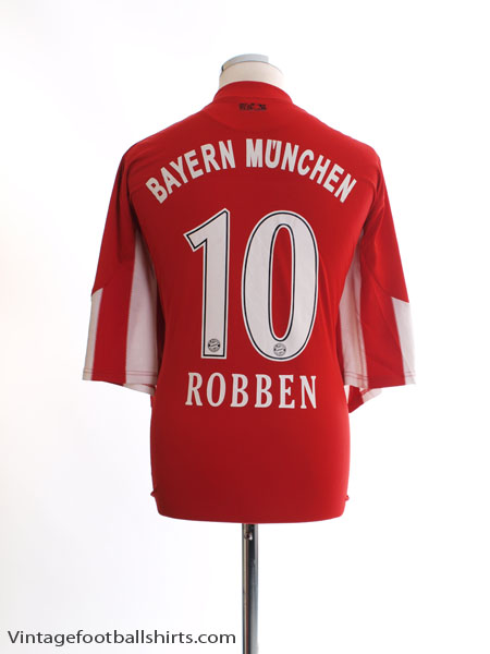 2010-11 Bayern Munich Home Shirt Robben #10 XXXL - P95790