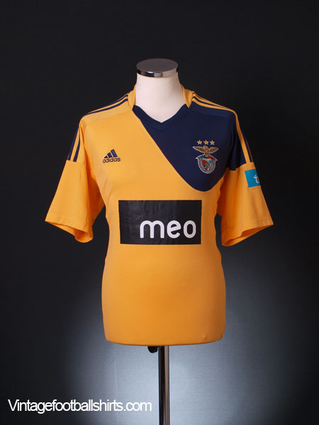 2010-11 Benfica Away Shirt *Mint* M