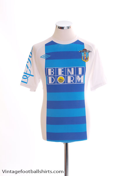 2010-11 Benidorm CF Home Shirt M