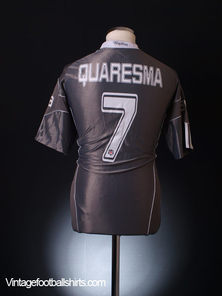 2010-11 Besiktas Third Shirt Quaresma #7 L