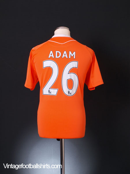 2010-11 Blackpool Home Shirt Adam #26 M