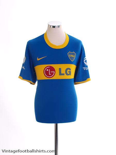 2010-11 Boca Juniors Home Shirt M