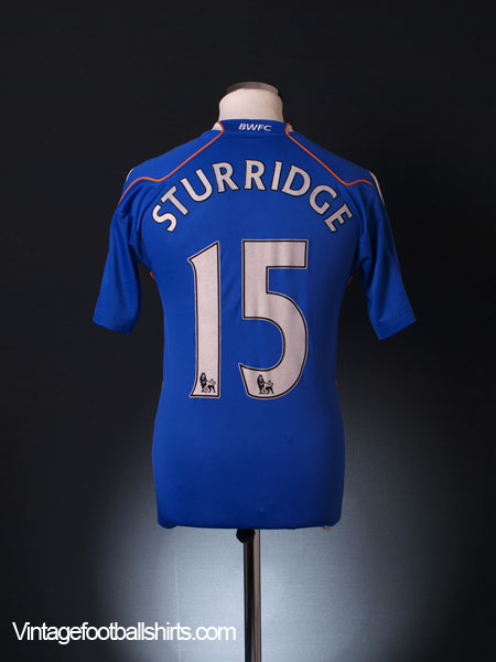 2010-11 Bolton Away Shirt Sturridge #15 XS