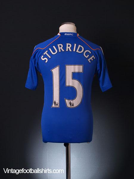2010-11 Bolton Away Shirt Sturridge #15 XS
