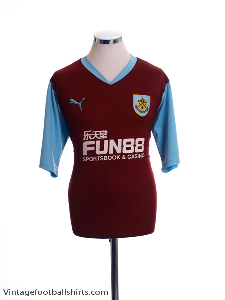2010-11 Burnley Home Shirt L