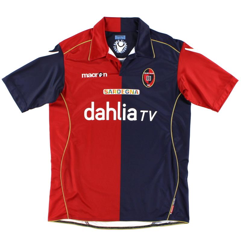 2010-11 Cagliari Home Shirt L