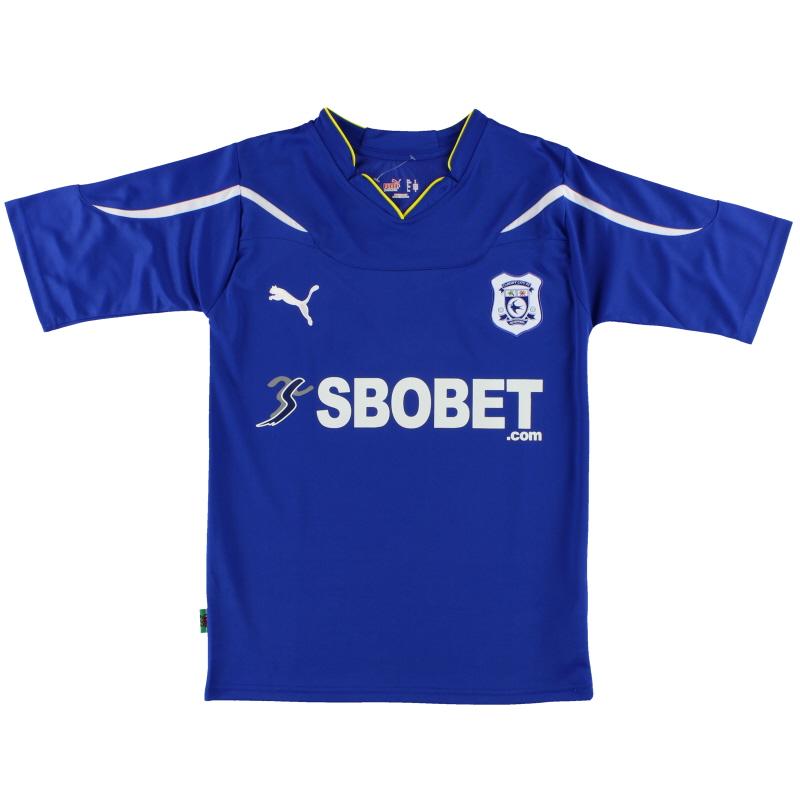 2010-11 Cardiff City Home Shirt *Mint* S