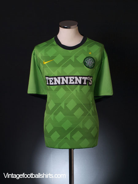 2010-11 Celtic Away Shirt M