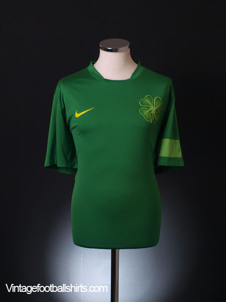 2010-11 Celtic Nike Training Shirt XL