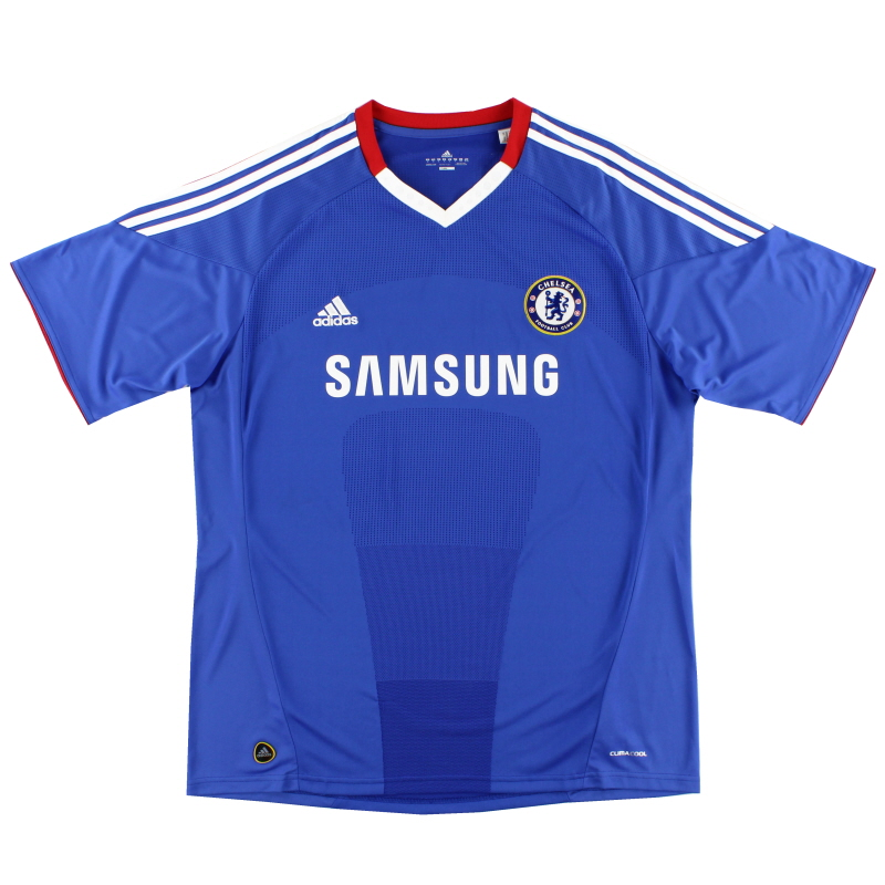 2010-11 Chelsea adidas Home Shirt M - P59900