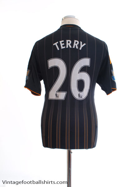 2010-11 Chelsea Away Shirt Terry #26 S