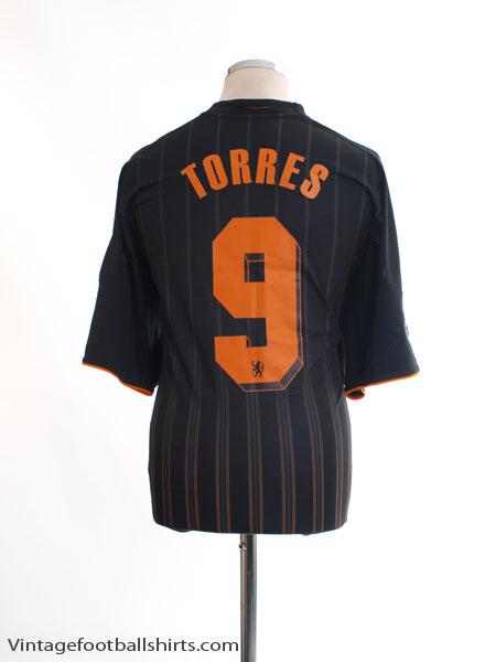 2010-11 Chelsea Champions League Away Shirt Torres #9 XL - P00205