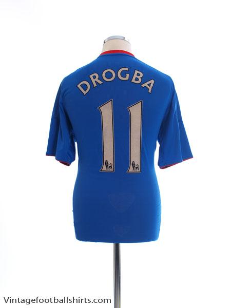 2010-11 Chelsea Home Shirt Drogba #11 M - P95900