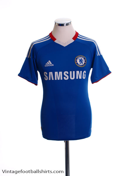 2010-11 Chelsea Home Shirt *Mint* L - P95900